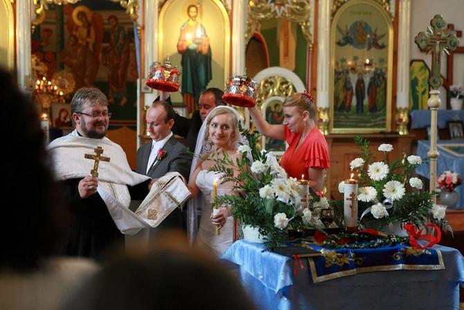 Pravoslávna svadba Slávky a Petra v Krompachoch