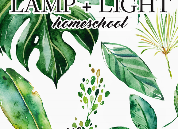 Lamp + Light Year 1 Planner - Digital Download