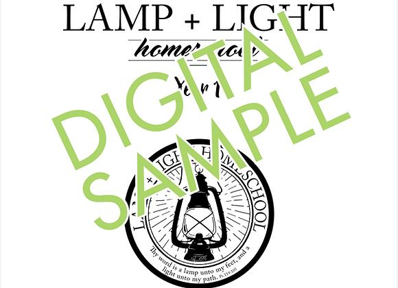 Lamp + Light Year 1 Curriculum Free Sample - Digital Download