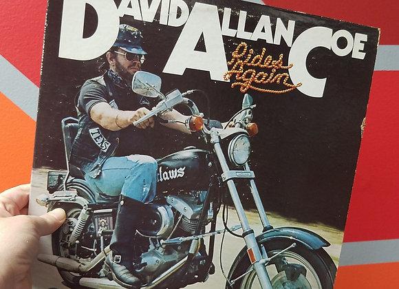 David Allan Coe - Rides Again - LP