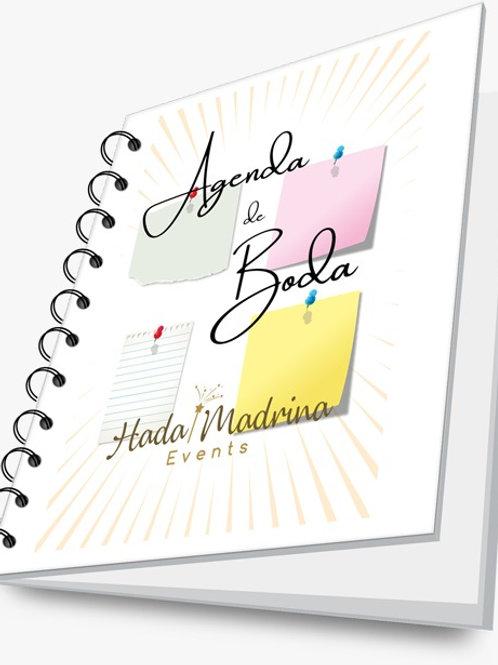 Agenda de Boda - Hada Madrina Events (Físico en A5)