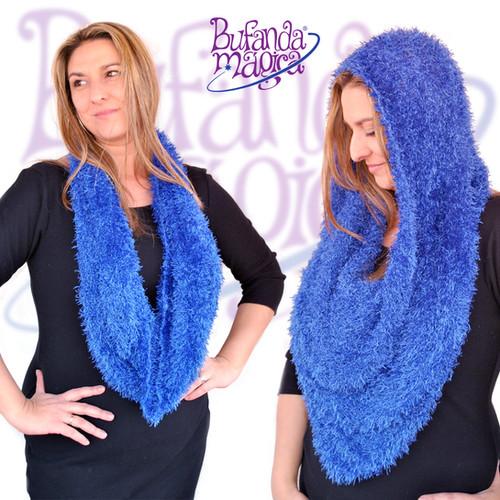 Bufanda Mágica Azul Noche
