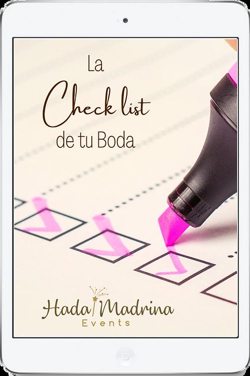 Check List de tu Boda