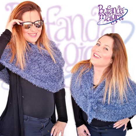 Bufanda Mágica Azul Vaquero