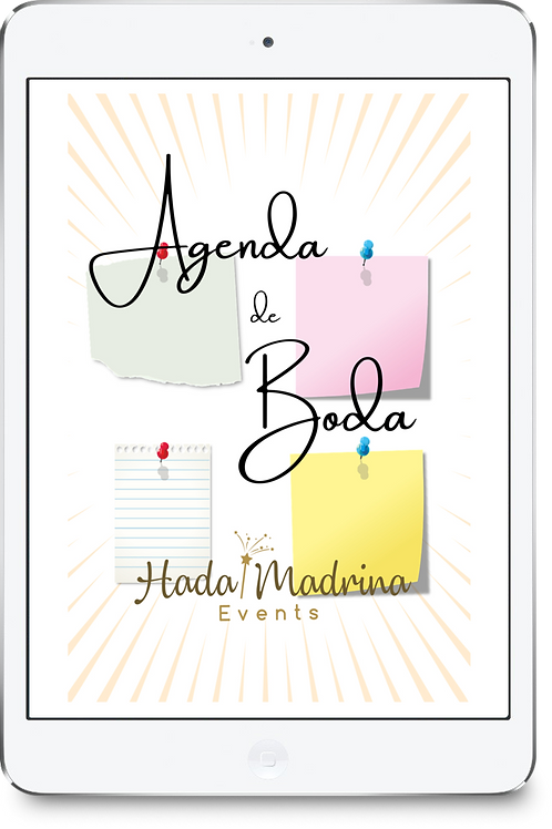 Agenda de Boda - Hada Madrina Events (Digital para imprimir)