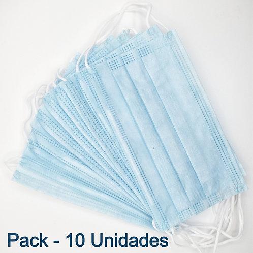 Mascarilla Quirúrgica Pack 10 unidades