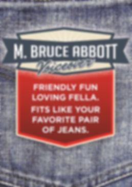 M. Bruce Abbott - voiceovers, voice actor, voice talent, narration