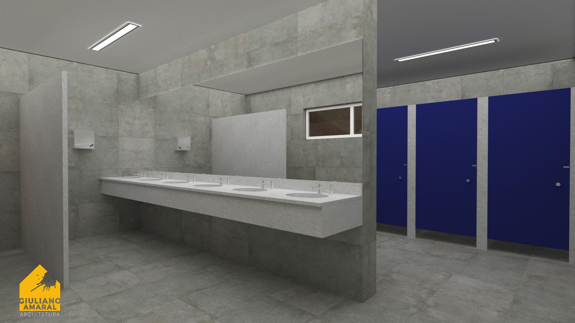 Banheiro Masculino - CTG Jupía