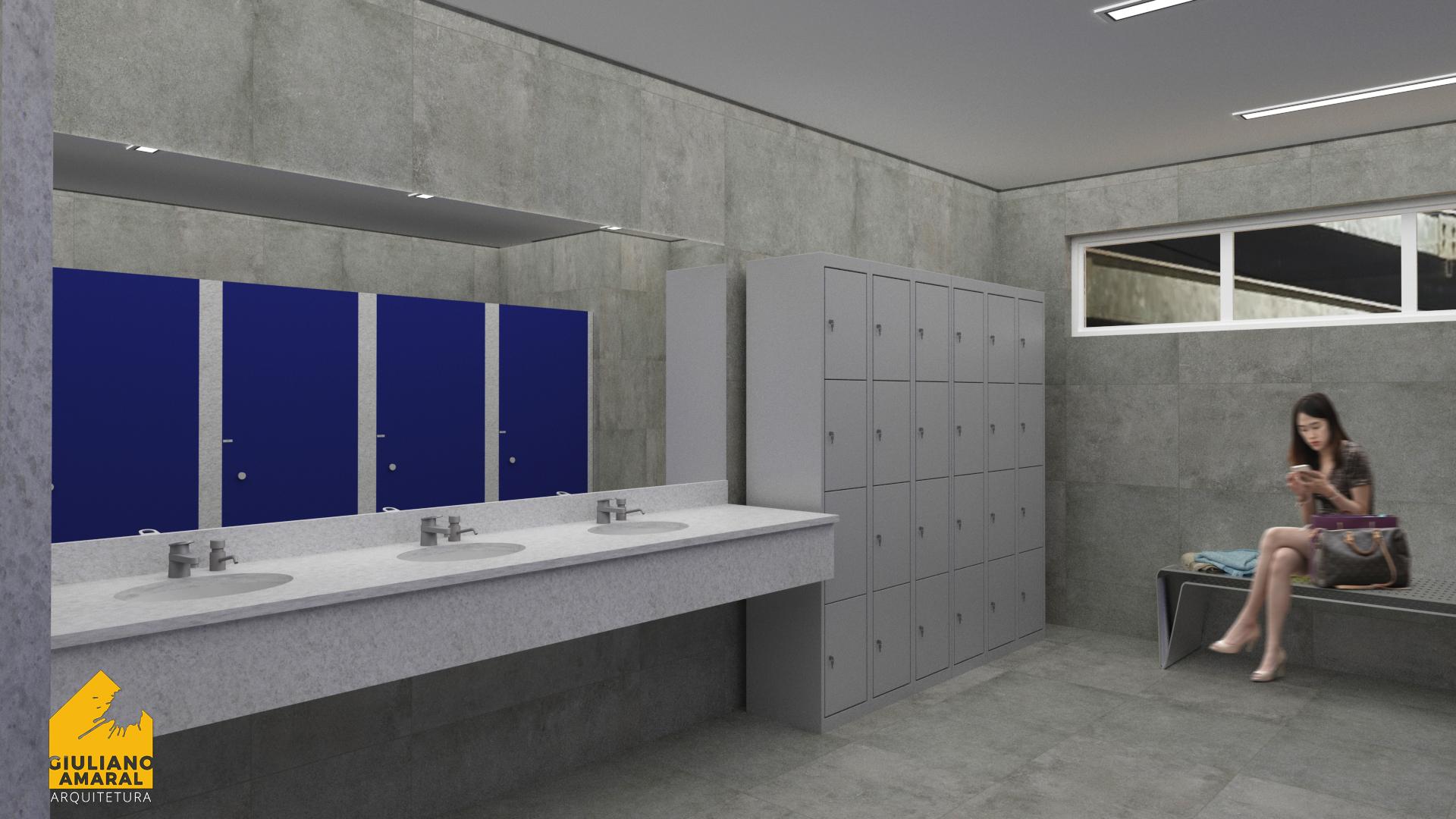 Banheiro Feminino- CTG Jupiá