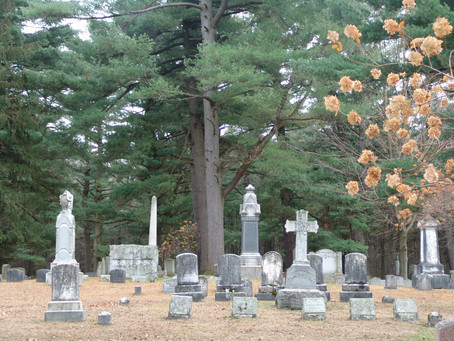 Visit to Evergreen Cemetery