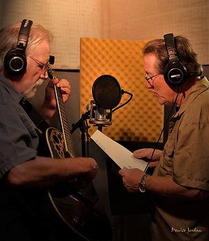 Lee Jordan and myself recording.jpg