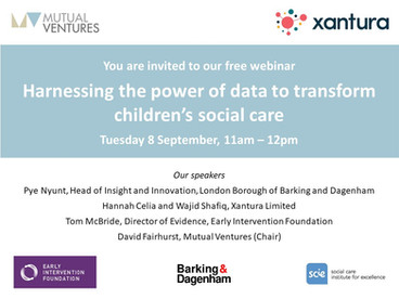 Catch up on our webinar: Harnessing the power of data to transform children's social care