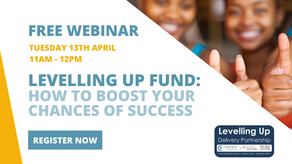 Catch up on our webinar: Levelling Up Fund – How to boost your chances of success