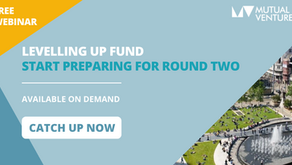 Catch up on our webinar - Preparing for Round 2 of the Levelling Up Fund