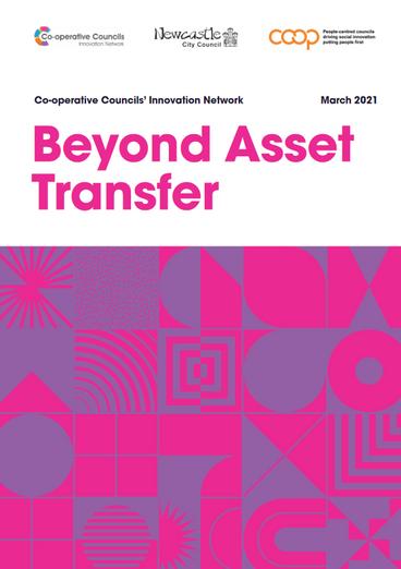 Beyond Asset Transfer: New CCIN report on Community Asset Transfer
