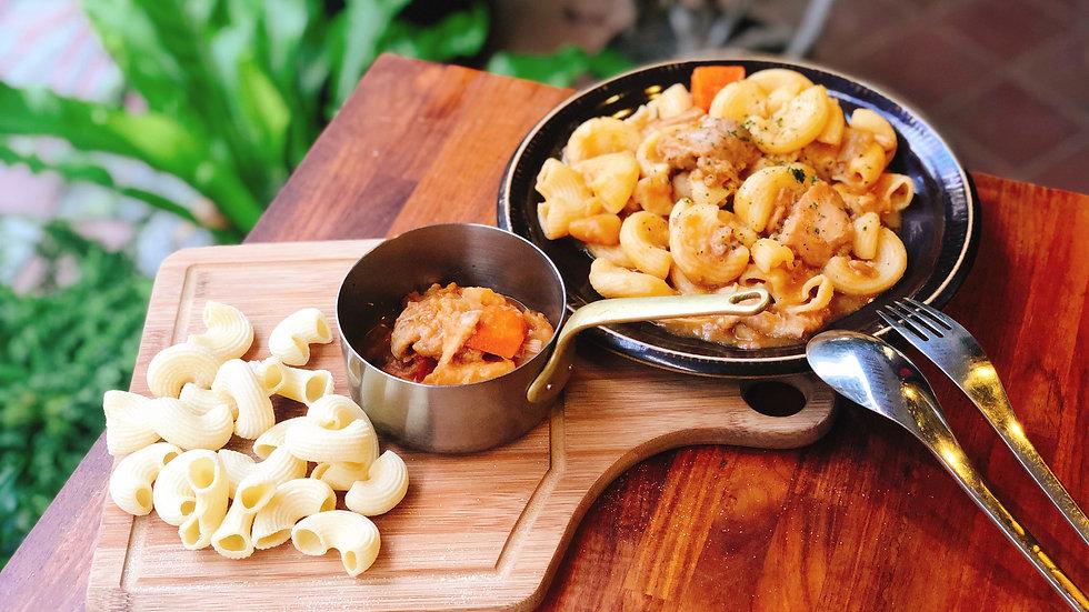 馬鈴薯燉雞 醬麵組合包