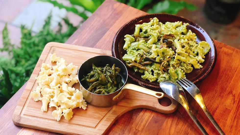 青醬野菇 醬麵組合包
