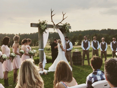 Megan's Beautiful Country Inspired Wedding