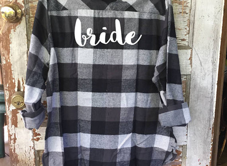 Country Brides + Flannels = Perfection