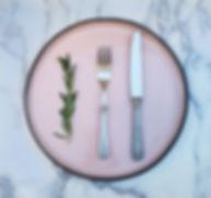 Pink Dinner Plate 30cm