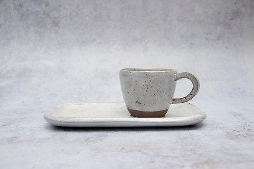 Espresso Cup & Small Plate