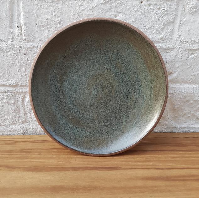 Forest Green Dinner Plate