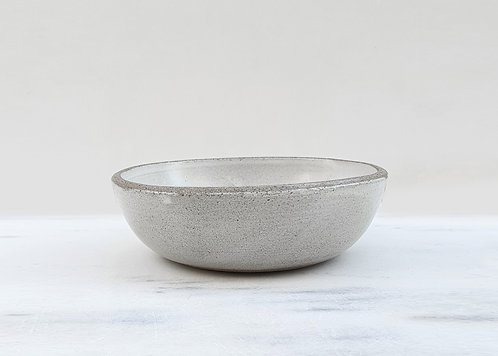 White Ice Cream Bowl 15cm