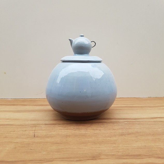 Sugar Container Mornig Blue