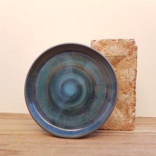 Ocean Blue Plate