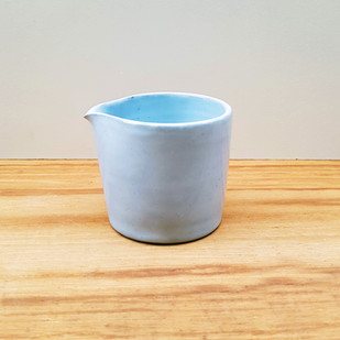 Milk Jug Morning Blue