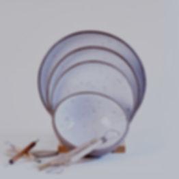 Ceramic Goose Egg Plates-DInner-Pasta-De