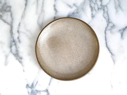 Linen Side Plate 19cm