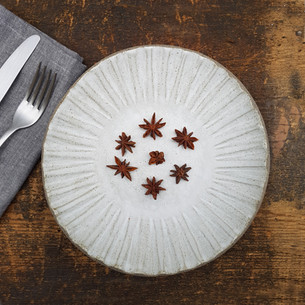 Pepper Clay Star Plate