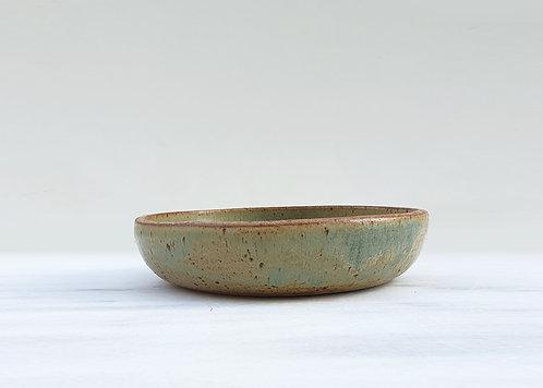Olive Shallow Bowl 18cm