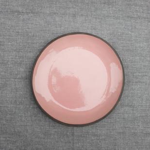 Pink Dessert Plate