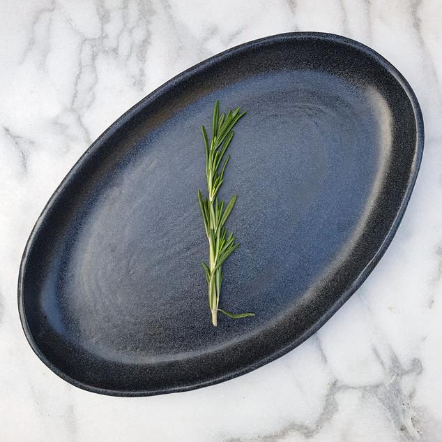 Cobalt Blue Small Oval Platter
