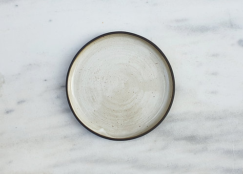 Egg Shell White Side Plate 19cm