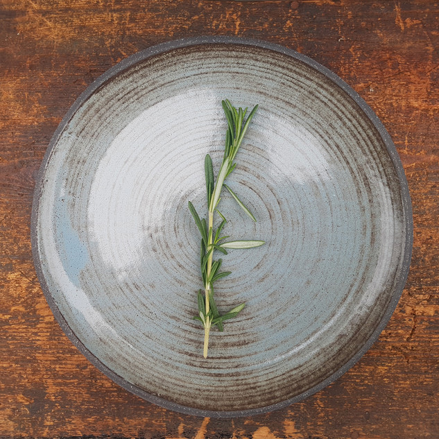 Rustic Willow Blue Small Dinner Plate