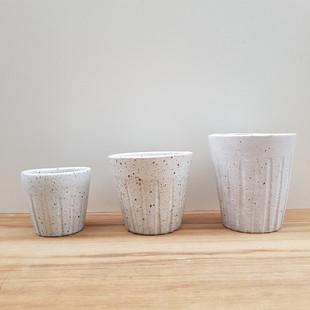 Cups Glazed