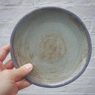 Sage Green Dessert Plate