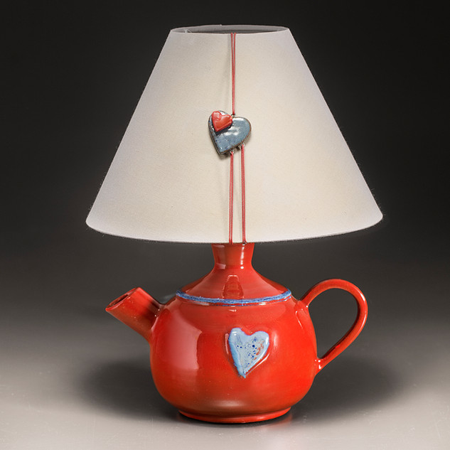 Teapot Light Red