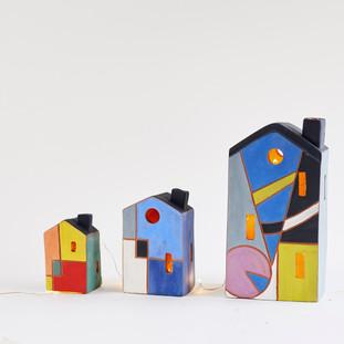 Houses 3 sizes