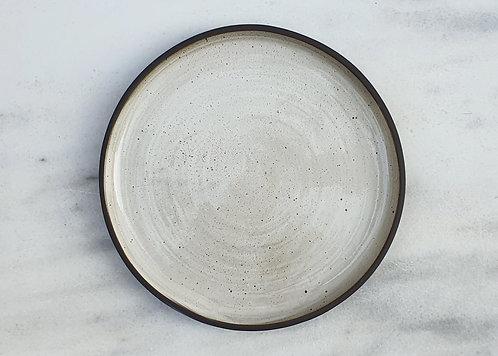 Egg Shell Dinner Plate 26cm