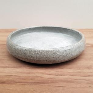 Round Lip Natural Grey 17cm