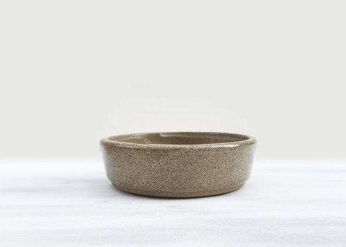 Natural Grey Square Sided Bowl 15cm