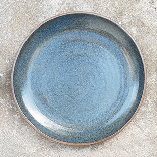 Tyrion Blue Dinner Plate 25cm