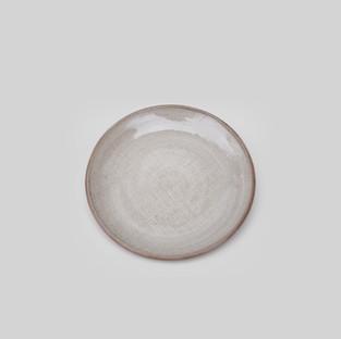 Ceramic Ivory Linen Dessert Plate 2.jpg