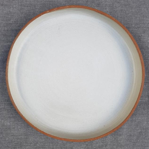 White Matte Terracotta Clay 30cm