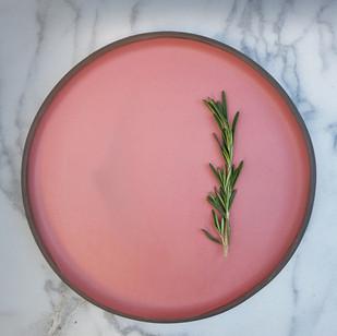 Peach Dinner Plate 30cm