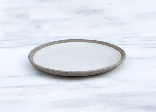 White Side Plate 19cm